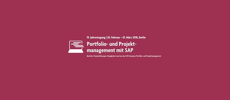 Portfolio- und Projektmanagement mit SAP