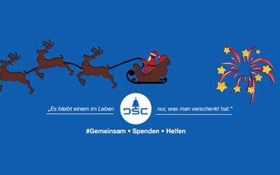 DSC wünscht besinnliche Feiertage