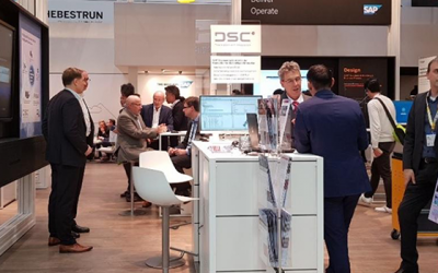 DSC Software AG am SAP-Partnerstand auf der HANNOVER MESSE 2019