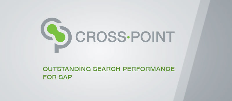 CROSS·POINT | Outstanding Search Performance for SAP