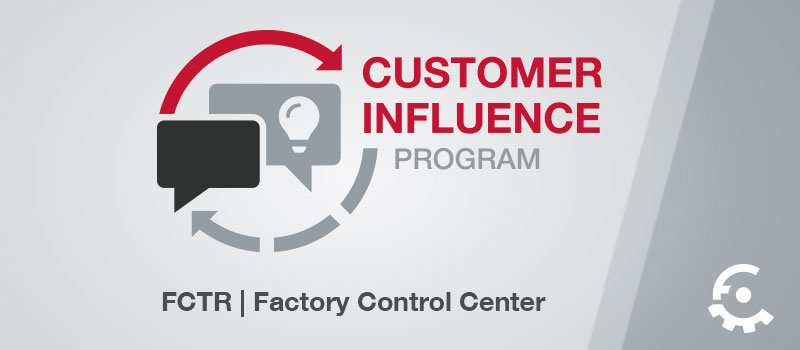 FCTR Customer Influence Program