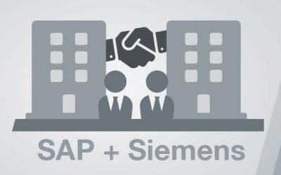 Strategische Partnerschaft von SAP und Siemens im Bereich der industriellen Transformation