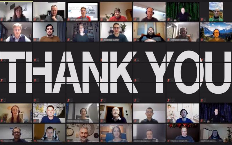 A heartfelt thank you from DSC!
