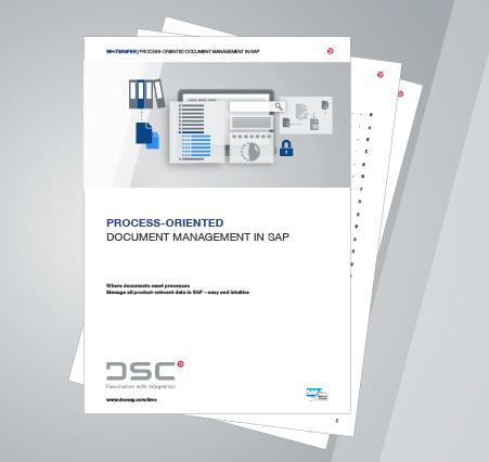 White paper Process-oriented document management in SAP