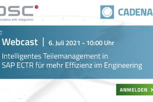 Webcast Intelligentes Teilemanagement in SAP ECTR