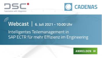 Webcast | Intelligentes Teilemanagement in SAP ECTR für mehr Effizienz im Engineering