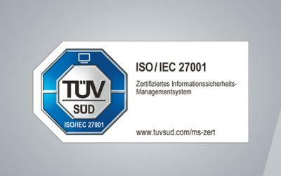 DSCSoftwareAG erfolgreich nach DIN EN ISO 27001 zertifiziert